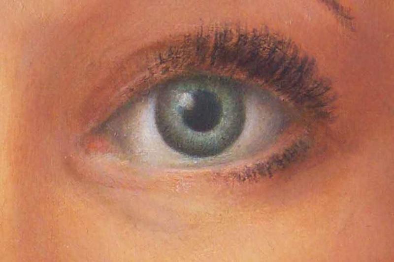 Das menschliche Auge in der Malerei