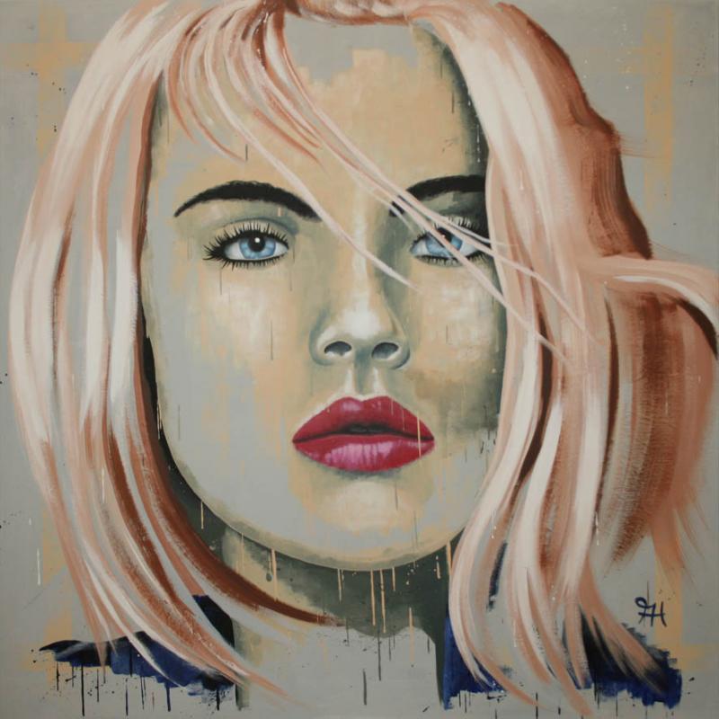 Dynamische Portraits in Acryl