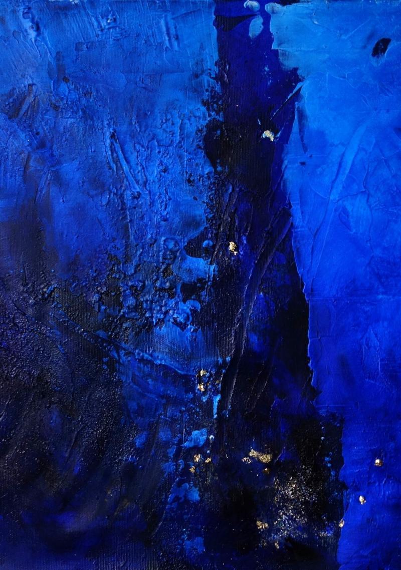 Geheimnisvolles Blau